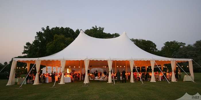 Skyline Tent Company 18 ... & A Montpelier Wedding - The Sky Line